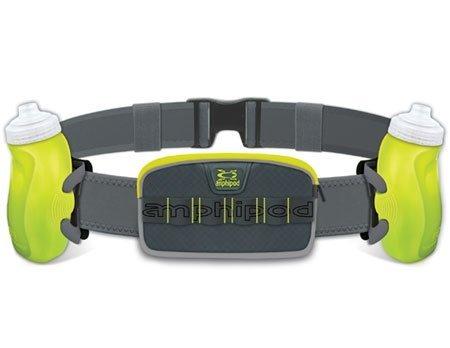 Amphipod Unisex RunLite Xtech 2 Plus Charcoal/Amp/Green