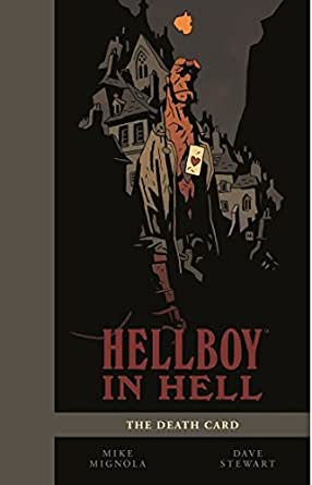 HELLBOY IN HELL VOLUME 2: THE DEATH CARD SDCC Exclusive Hardcover