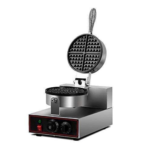 MAZORIA Belgian Waffle Maker Commercial Round