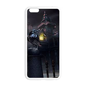"""Happy Halloween ghost house black owl Case for iPhone 6 plus 5.5"""""""