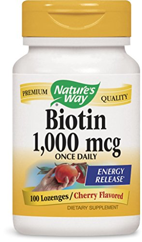 Natures Way Biotin Lozenges Count product image