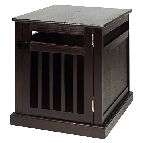 Casual Home Chappy Wooden Pet Crate with Wood Slats, Espresso ()