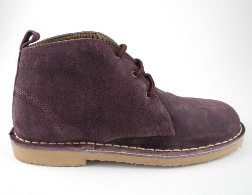 desert suede toe round boots real leather IwPzxpYqx