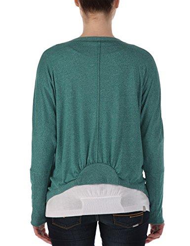 Bench Jerseyjacke Backedup, Camisa para Mujer Verde (Northseamarl)