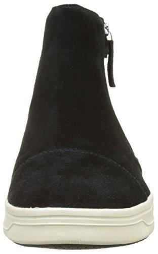 J B black Negro Altas Aveup Adulto Zapatillas Geox Unisex dq8ExwdS