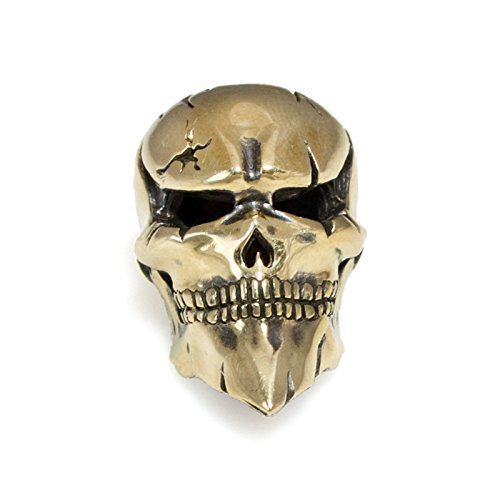 Paracord Skull Bead Ghost Rider - Metal DIY Paracord Beads Charms EDC Accessories for Custom Bracelet Knife Lanyard Zipper Pull - Handmade Paracord Charms Supplies Crafts from Asterom