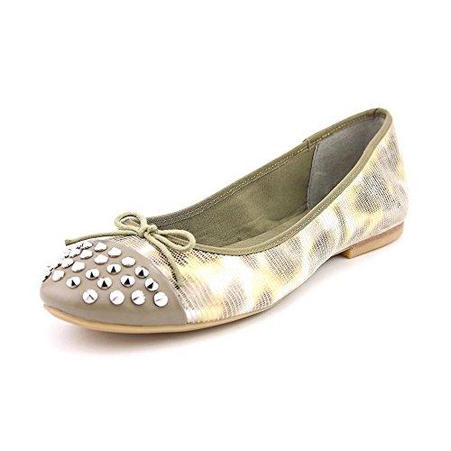 Rachel Roy Castalia Womens Size 7.5 Green Textile Flats Shoes