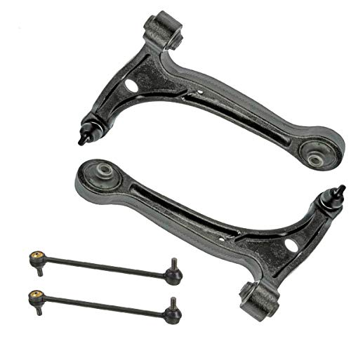 Detroit Axle - Front Lower Control Arm w/Ball Joint & Sway Bar End Links for 2001-2006 Acura MDX - [2003-2008 Honda Pilot]