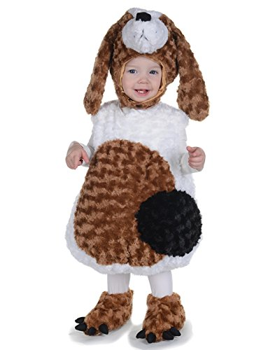Toddler's Basset Hound Belly Babies Costume - Medium -