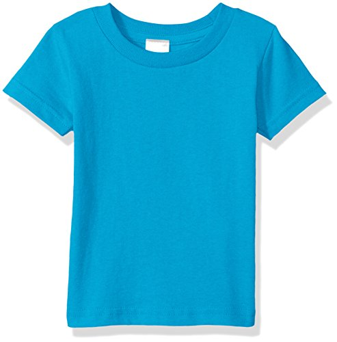 (Clementine Baby Infant Soft Cotton Jersey T-Shirt, Turquoise, 24MOS )