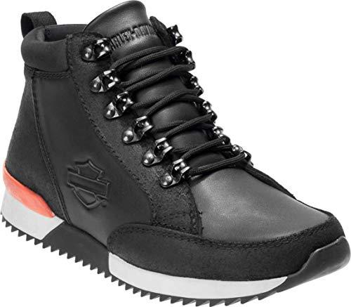 - Harley-Davidson Men's Harlen 6-Inch Motorcycle Riding Boots D96185 (Black, 9.5)