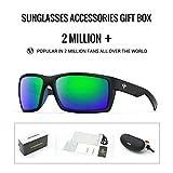 TOREGE Sports Polarized Sunglasses for Men Women