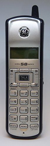 Ge Black Cordless Telephone - 8