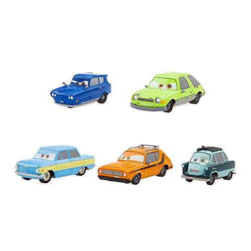 - Disney Cars 2 Spies Pull 'n' Race Die Cast Set