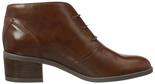 Clarks Calne Olivia - Botas cortas para mujer Marrón (Tan Leather)