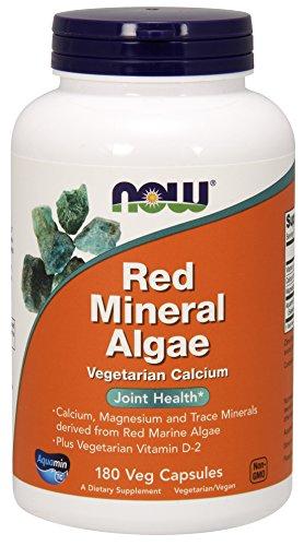 NOW Red Mineral Algae Capsules