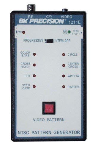B&K Precision 1211E Handheld NTSC Pattern Generator, 1.5