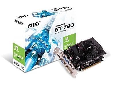 MSI N730-2GD3V1 - Nvidia GeForce GT730 Tarjeta gráfica (2 GB ...