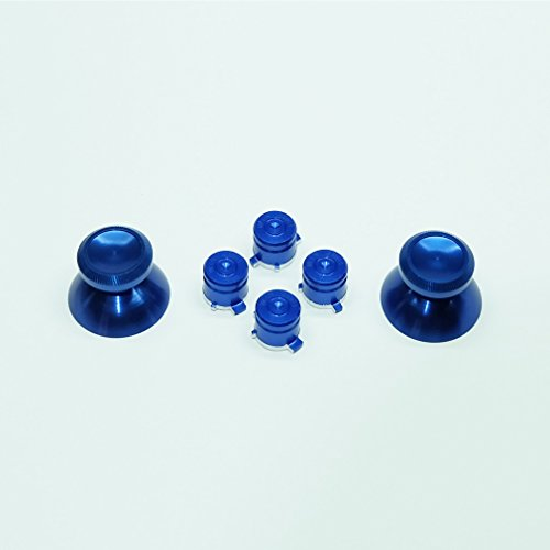 Galleon - Xinkeen Navy Blue Metal Thumbstick/analog Stick Cap And