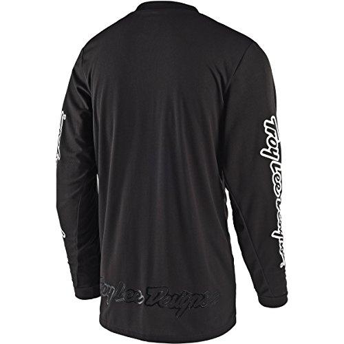 Troy Lee Designs Unisex GP Mono Jersey (Black, ADULT  XX-Large) by Troy Lee Designs (Image #1)