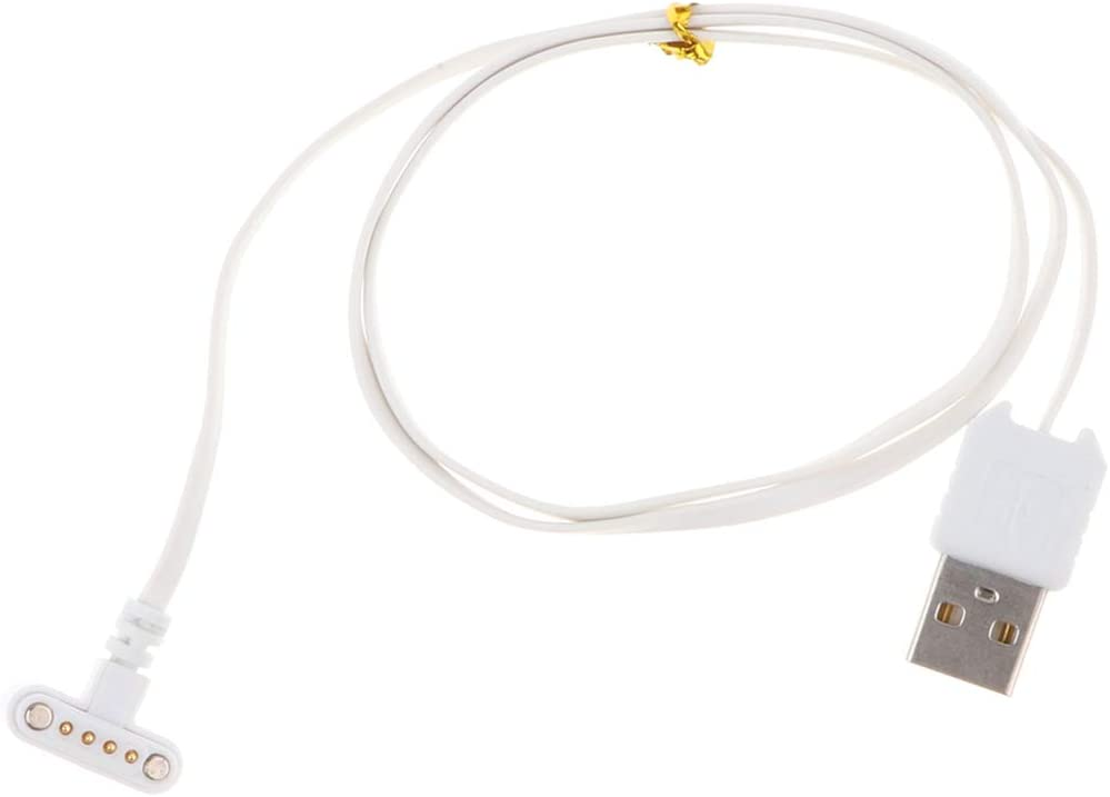 Shiwaki Smart Horloge Polshorloge Oplaadkabel USB 2.0 naar 4 Pin, Kleur: wit Kleur: wit