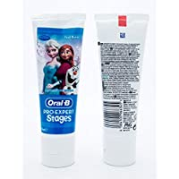 Oral B ORL43 Stages Frozen Toothpaste, 75 mL-pack of 6