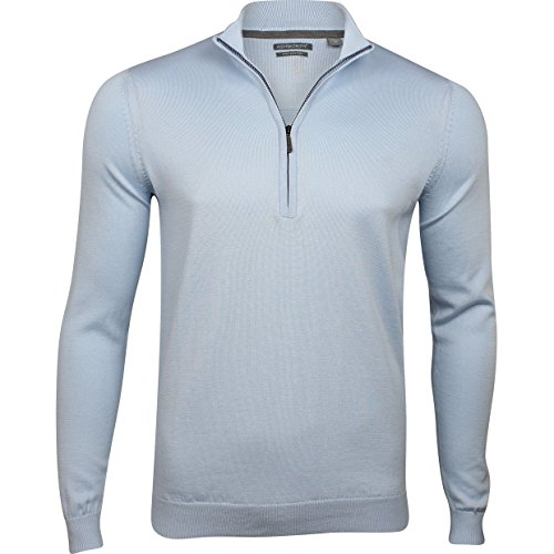 Ashworth Solid Half-Zip Pima Golf - Ashworth Lightweight Pullover