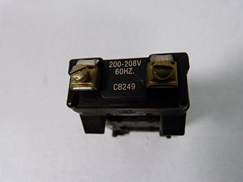 NEW ALLEN BRADLEY CB249 COIL SIZE 0-1 200-208V-AC CONTACTOR D368300