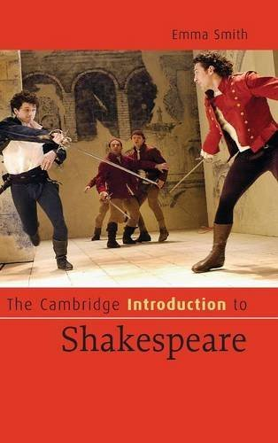 The Cambridge Introduction to Shakespeare (Cambridge Introductions to Literature) by Dr Emma Smith (2007-04-09)