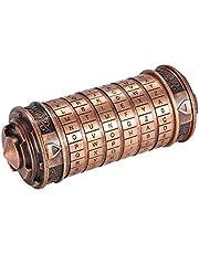 Fuoliystep da Vinci Codeslot da Vinci Mini Wachtwoord Slot da Vinci Code Puzzel Cilinderslot Doos Minnaar Slot Met Twee Ringen Voor Jubileum Valentijnsdag Romantisch Verjaardagscadeau