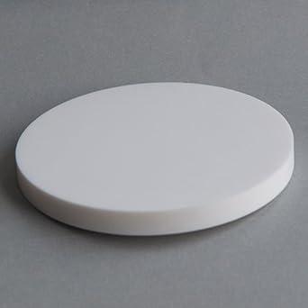 MAC3-06064 4 Diameter X 3//8 Thick Macor Machinable Ceramic Disc