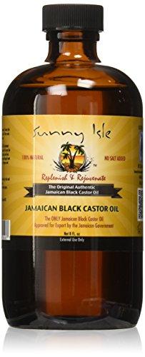 Sunny Isle Jamaican Black Castor Oil 8oz (236ml)