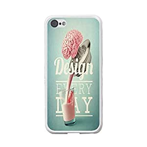 Creative Design Iphone Case Cool Customized Hard Plastic Case Cover Skin Protector for Iphone 5c (pink quotes BY518)