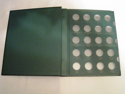Washington Statehood Quarter Date Set 1999 - 2008+ Coin Album (DO NOT BE FOOLED BY QUARTER - Collectors Statehood Quarters