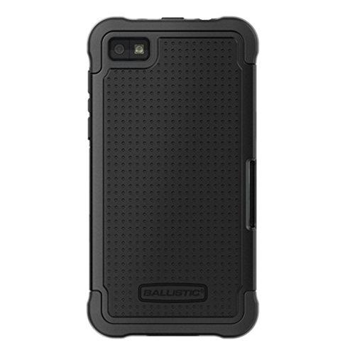 Ballistic SG1097-M005 SG Case for Blackberry Z10 - 1 Pack - Retail Packaging - Black