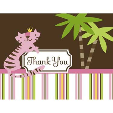 Queen of the Jungle - Thank You Note