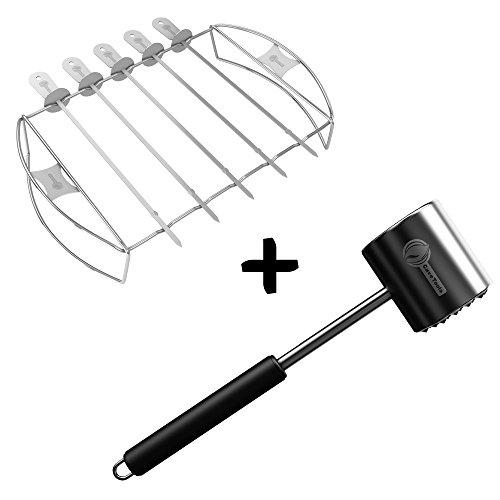 Kabob Meat Tenderizer Mallet Tool