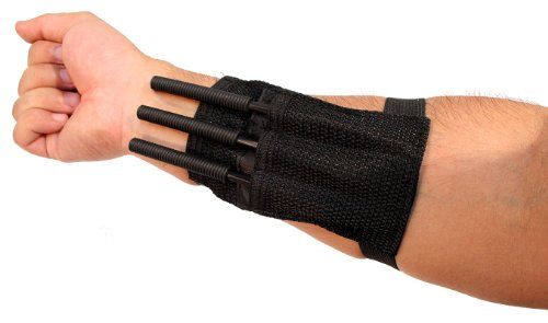 Black Throwing Spike Tactical Straps