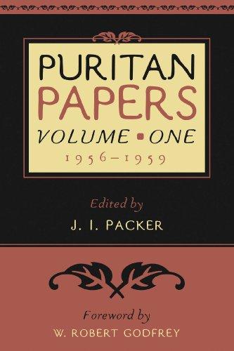 Puritan Papers: Vol. 1, 1956-1959
