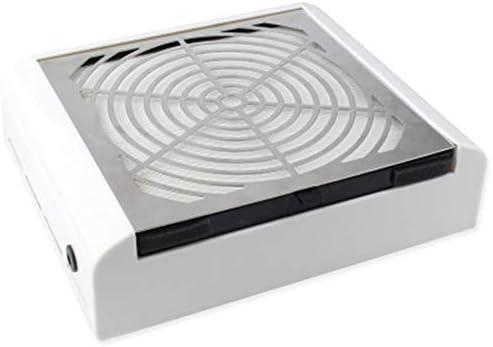 FASBHI Aspirapolvere chiodo, 40W Filtro Elevato Potere detergente del Desktop chiodo Estraibile Senza nessun Filtro lanugine Effetto aspirapolvere Manicure aspirapolvere Macchina