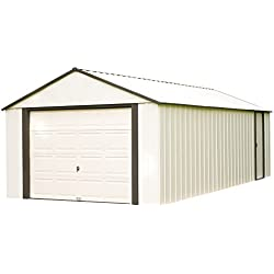 Arrow VT1210 Vinyl Coated Murryhill 12-Feet by 10-Feet Heavy Duty Steel Storage Shed