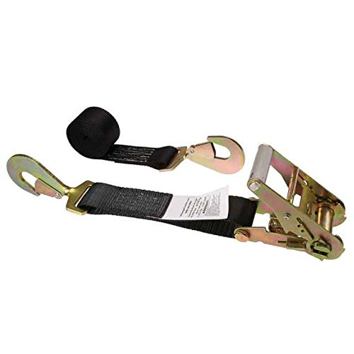 US Cargo Control 2'' X 12' Auto Tie Down (Single) - with Ratchet Strap and Twisted Snap Hooks by US Cargo Control (Image #6)