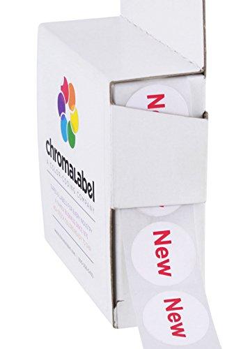 ChromaLabel 3/4 inch Removable Dot Labels   New Imprint   1,000/Dispenser Box