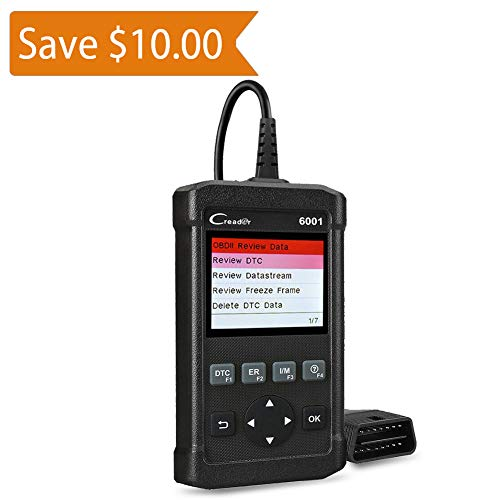 LAUNCH Creader 6001 OBD2 Scanner Code Reader Full OBDII/EOBD Scan Diagnostic Tool for O2 Sensor Test, On Board Monitor Test and Turn Off Check Engine Light by LAUNCH (Image #9)