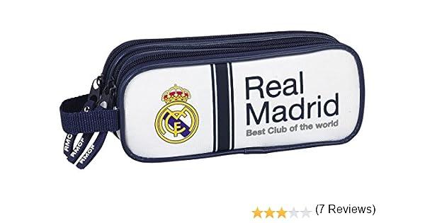 Real Madrid Safta 811654635 - Portatodo triple: Amazon.es: Juguetes y juegos