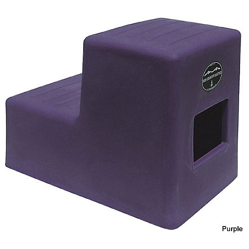 High Country 2-Step Mounting Block Purple by High Country Plastics