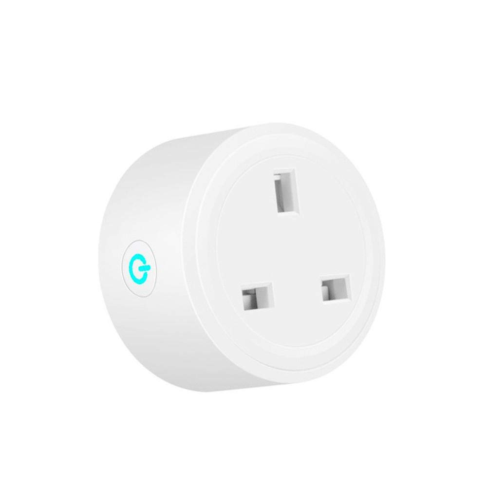 TEEPAO Mini WiFi Smart Plug/Outlet - Compatible with Alexa Google Assistant IFTTT for Voice Control, No Hub Required, Wireless Switch Socket with Timer Function, APP Remote Control