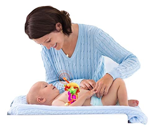 Tummbino Baby Diaper Changing Distraction Toy, No more Diaper Changing Wars, Features Music and Light Show
