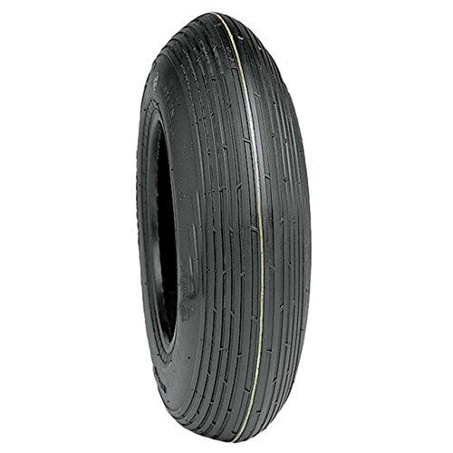"DELI Tire Geek Brand 8"" 4 Ply Rated Tubeless Wheelbarrow ..."