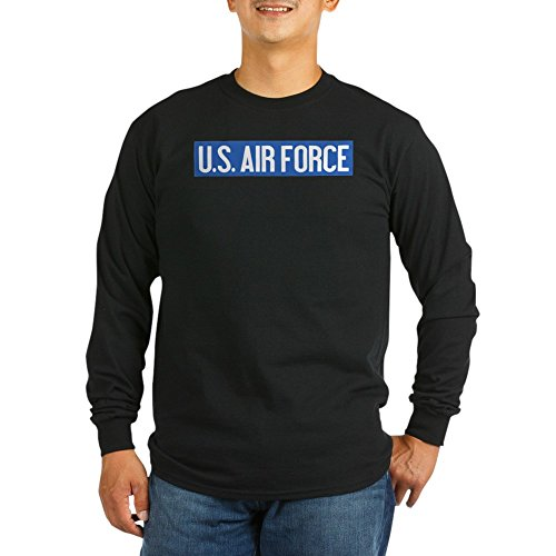 CafePress U.S. Air Force: Vintage (Unisex Cotton Long Sleeve T-Shirt Black